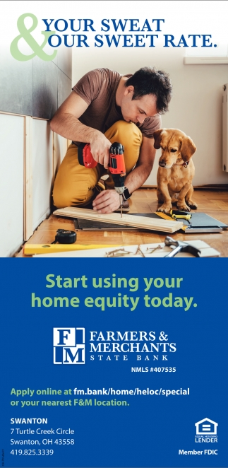 Start using your home equity today