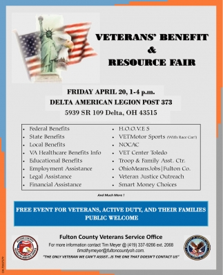 Veterans Benefit & Resource Fair