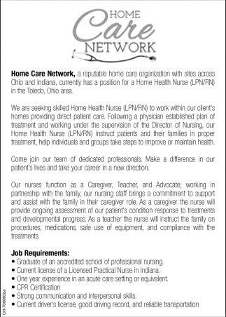 Rn home care network lpnrn home care network 1betcityfo Choice Image