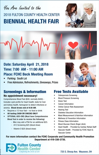 Biennial Health Fair
