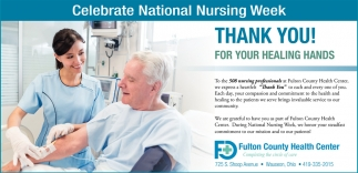 Celebrate National Nursing Week