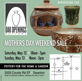 Mothers Day Weekend Sale